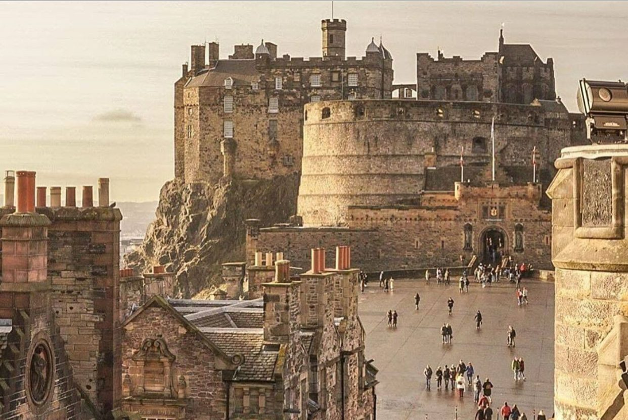 Visita al Castillo de Edimburgo