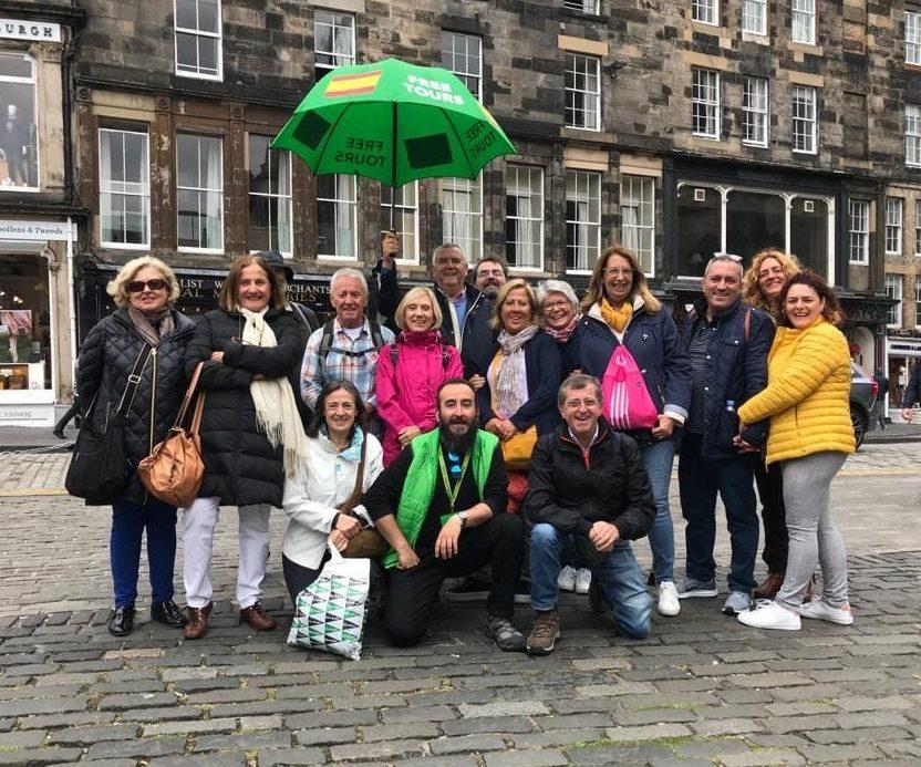Free tours de Edimburgo en español