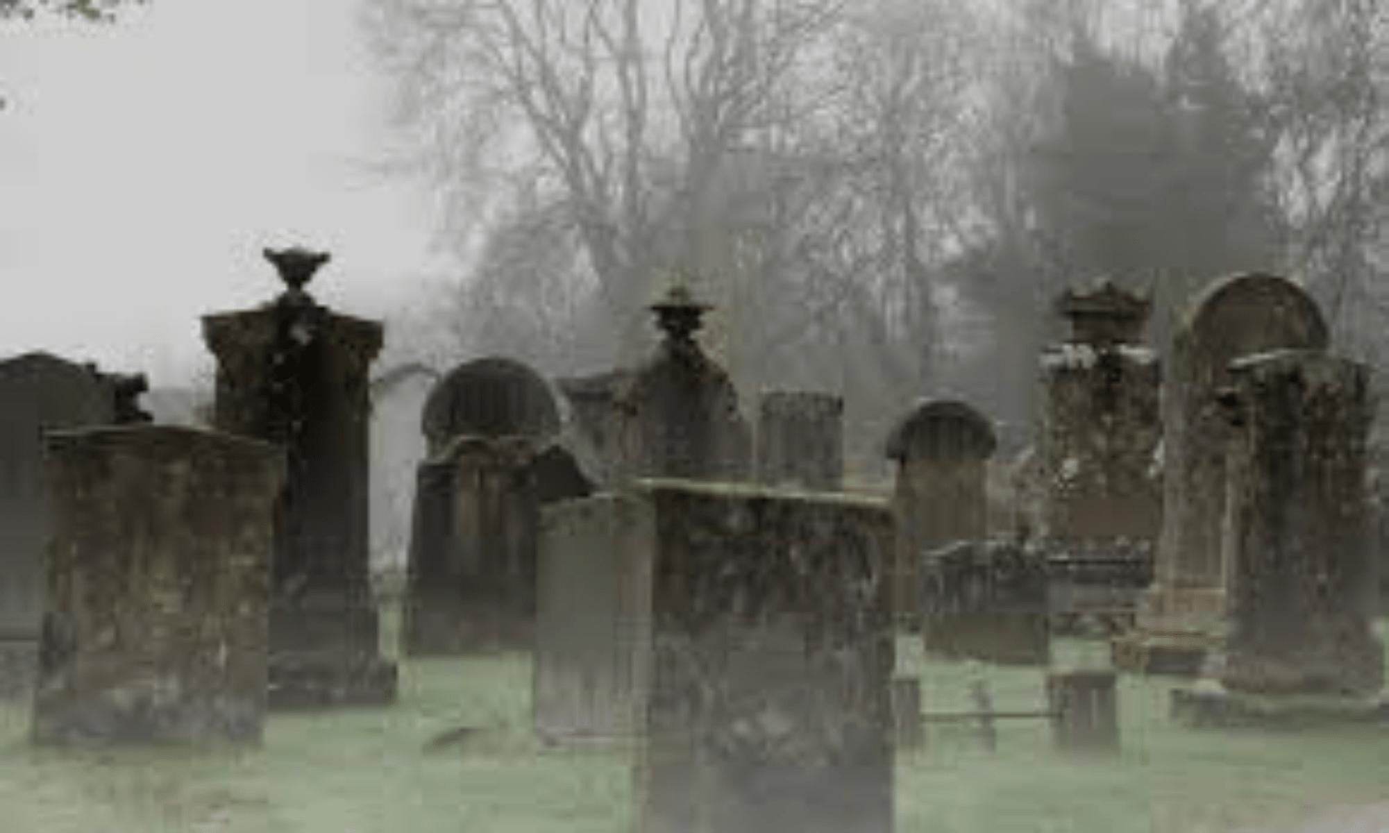 Cementerio en el recorrido del free tour de los fantasmas