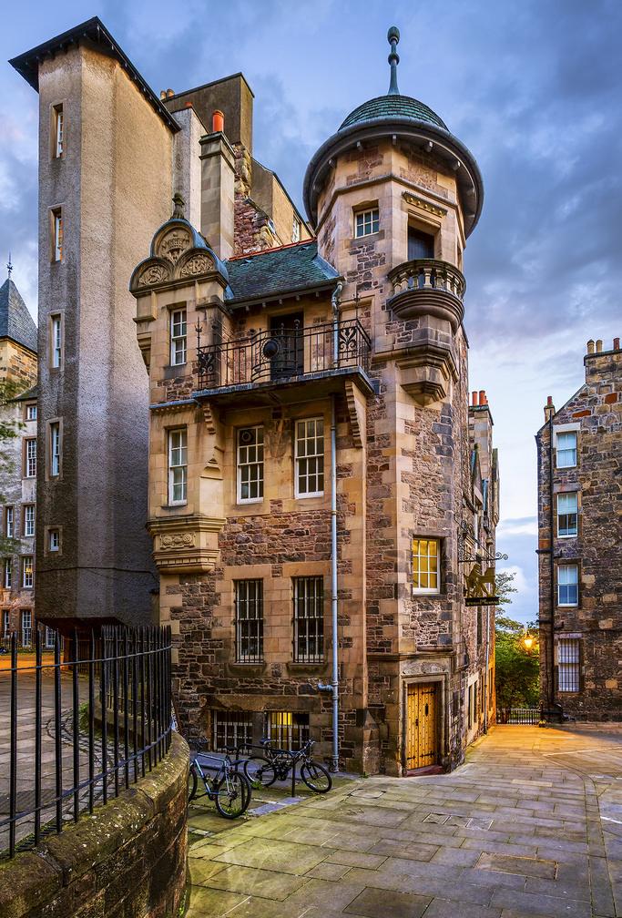 Museo de los escritores en la Ciudad Vieja de Edimburgo